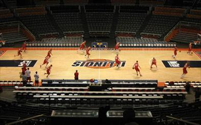 Badgers at Illinois Courtside Blog