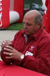 UW Athletic Director Barry Alvarez at Badger Days in Eau Claire