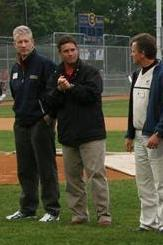 UW Coaches at Eau Claire Express baseball game