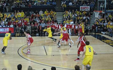 MBB: UW at Michigan courtside blog