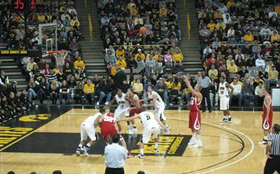MBB: UW at Iowa courtside blog