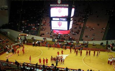 MBB: UW at Indiana courtside blog