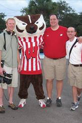 UW Support Staff w/ Bucky