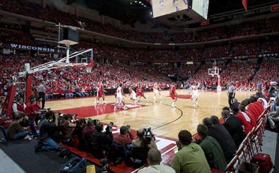 Badgers vs. Minnesota Courtside Blog
