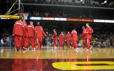 Badgers at Minnesota Courtside Blog